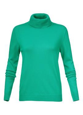 Вязаный свитер из вискозы стрейч