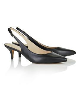 Туфли с открытой пяткой с Pfennigabsatz