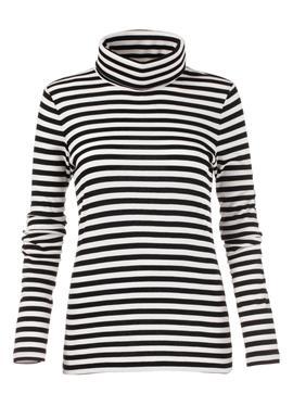 Кофта в поперечную полоску с свитер