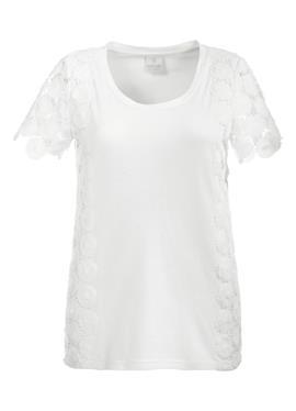 Блузка с edler Spitzenapplikation
