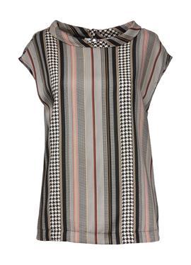 Блузка с графическим принтом