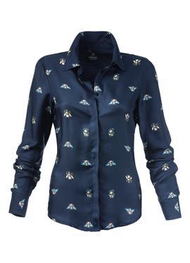 Taillierte блузка рубашечного покроя с Unikat-Print