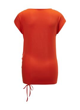 Блузка с Raffung