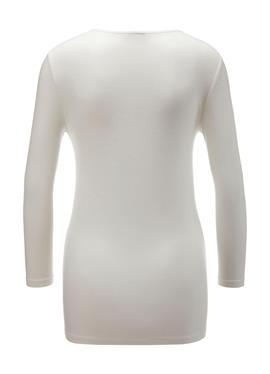 Рубашка из джерси с рукавами 3/4 и узлом