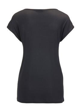 Без рукавов блузка с Print und Strass-Dekoration
