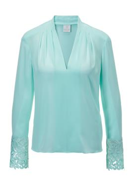 Шелковая блузка с Spitze