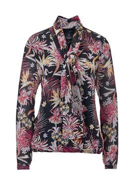 Блузка с рисунком с Schluppe