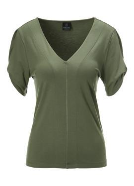 Kurzarm-Shirt c v образным воротом