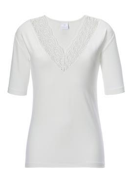 Блузка с Spitze am Ausschnitt