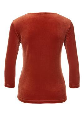 Бархатная рубашка с запахом