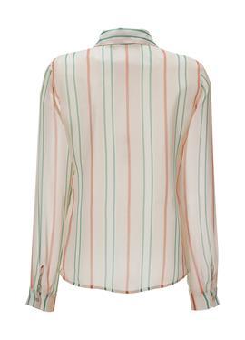 Transparente блузка с Streifen