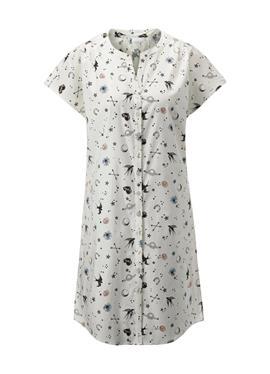 Ночная рубашка с короткими рукавами