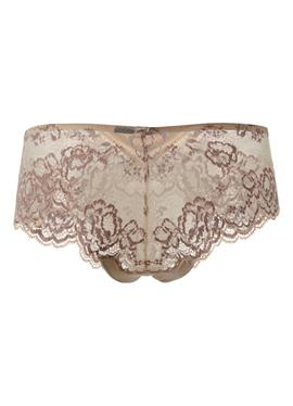 Комплект: шорты на бедрах с transparenter Spitze