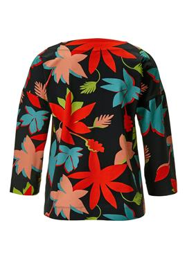 Legeres блузка с Blätterprint