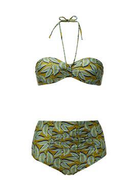 Retro-Bikini in Bandeauform