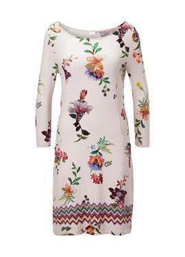 Bedrucktes пляжное платье с 3/4 рукава