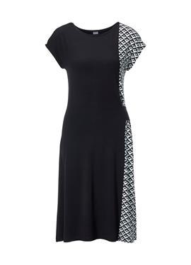 Пляжное платье im Kontrast-Look