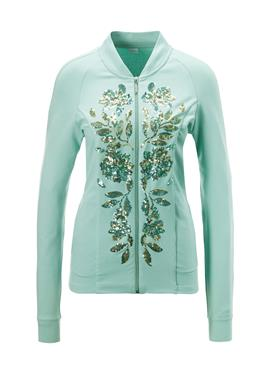 Куртка с opulenter Pailletten-Dekoration