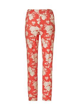 Jogg-Pants mit Blütenprint
