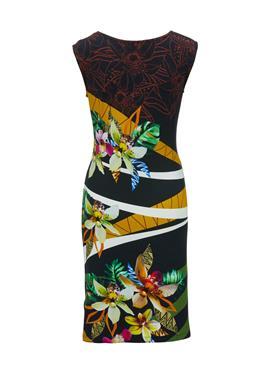 Платье с цветочным принтом от Fürstenberg