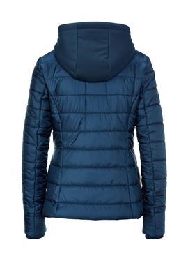 Теплая стеганая демисезонная куртка