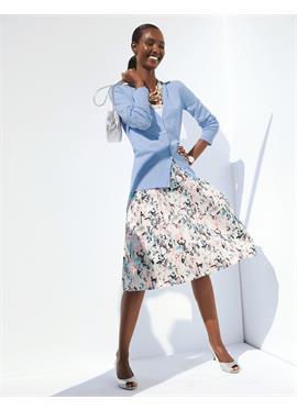 Schwungvoller юбка с Schmetterlings-Druck