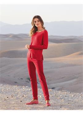 Elastische вельветовые брюки в schlanker Form
