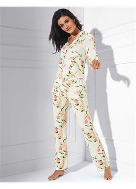 Пижама с цветочный принт