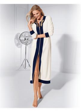 Халат в hochwertiger Fleece-Qualität