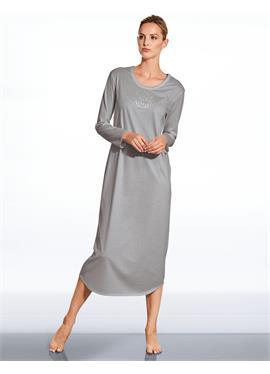 Nachtkleid mit Langarm