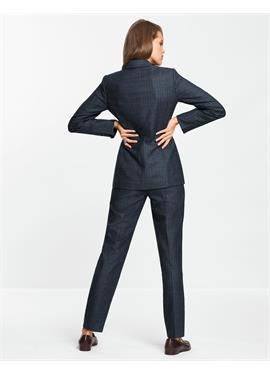 Пиджак из натуральной шерсти и шелка