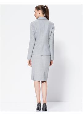Облегающая юбка из твида