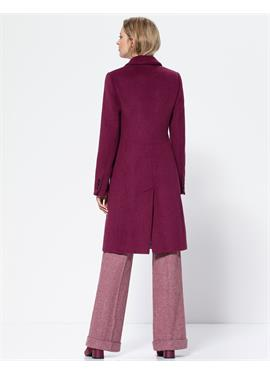 Теплое короткое пальто
