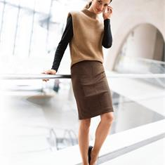 Пуловер из мериносовой шерсти
