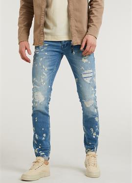 EGO ZYON - джинсы зауженный крой