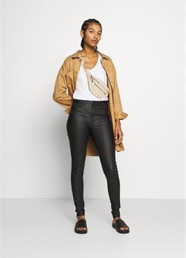 OBJBELLE шорты - джинсы Skinny Fit