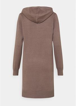 JDYMISCHA HOOD DRESS - вязаное платье