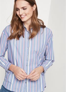 С LÄNGSSTREIFENMUSTER - блузка рубашечного покроя