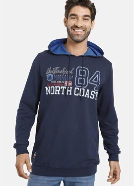 NICKLAS - пуловер с капюшоном