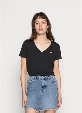 PERFECT V NECK - футболка print