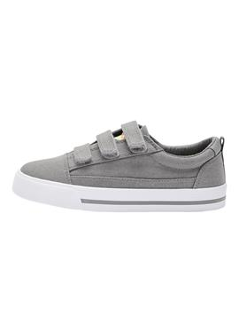 WHITE STRAP TOUCH FASTENING SHOES (OLDER) - сникеры low