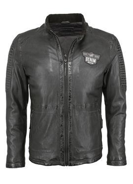 С ABSTEPPUNGEN - кожаная куртка