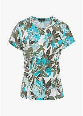 WITH EXOTIC FLORAL - футболка print