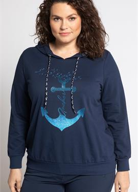 Женские GROSSE GRÖSSEN - пуловер с капюшоном