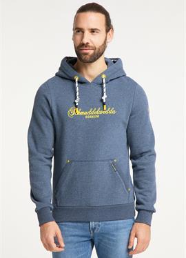 BORKUM - пуловер с капюшоном