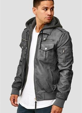 AARON - куртка кож зам.