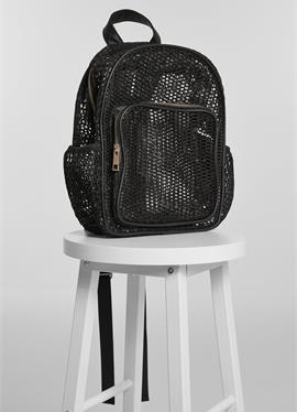 URBAN CLASSICS аксессуары LADY BACKPACK MESH TRANSPARENT - Tagesrucksack