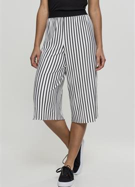 LADIES STRIPE PLEATED широкие брюки - брюки