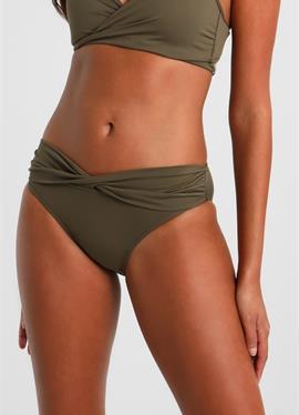 TWIST BAND комплект: шорты на бедрах - плавки-бикини