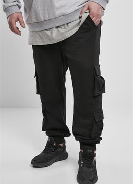 DOUBLE POCKET TERRY - брюки карго